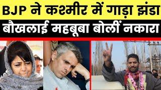 Jammu and Kashmir DDC Election Result:  BJP सबसे बड़ी Party बनकर उभरी, महबूबा बोलीं भगवा को नकारा