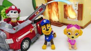 Щенячий патруль спасает куколки Лол. Видео для детей.