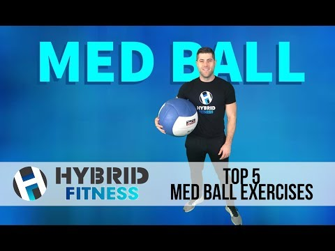 Looking For HIIT Exercises? | Top 5 Med Ball Slam Variations