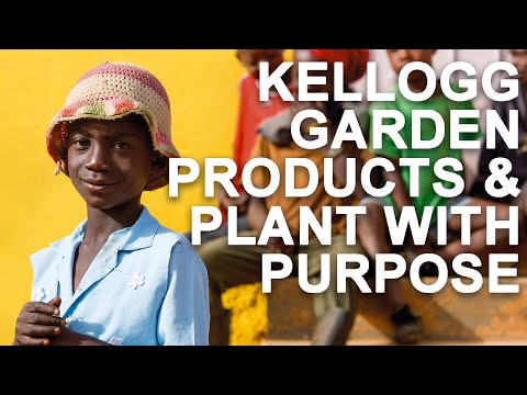 Kellogg Garden Products & Plant With Purpose