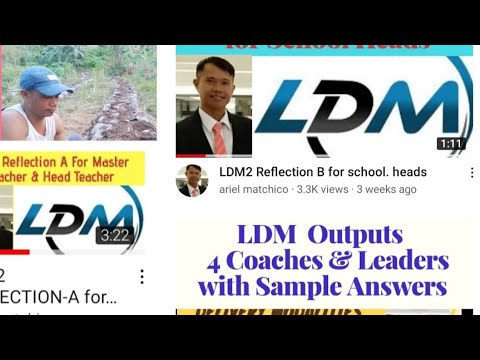 Download LDM2 REFLECTION FOR LAC LEADERS