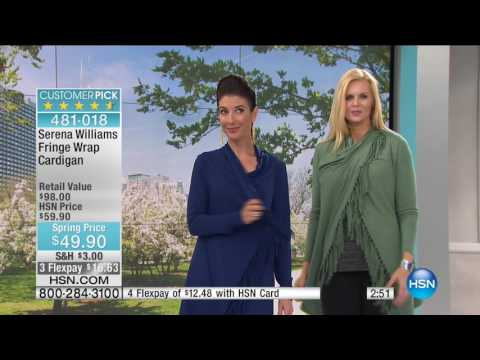 HSN | SERENA WILLIAMS Signature Statement Fashions 04.20.2017 - 05 AM