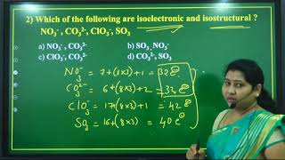 I PUC   Chemistry   CET/NEET/JEE   Chemical bonding and molecular structure