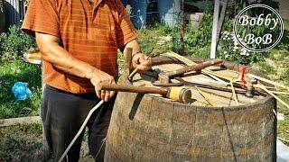 Butoi de lemn - Cum se papureste butoiul