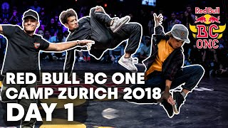 Red Bull BC One Camp Zurich 2018 | Day 1