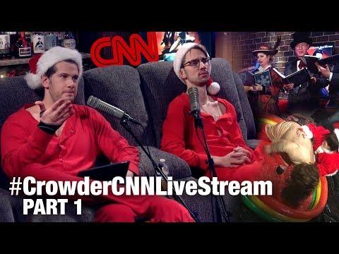 Crowder's 16-Hour CNN Torture Livestream! (Part 1) | Louder With Crowder