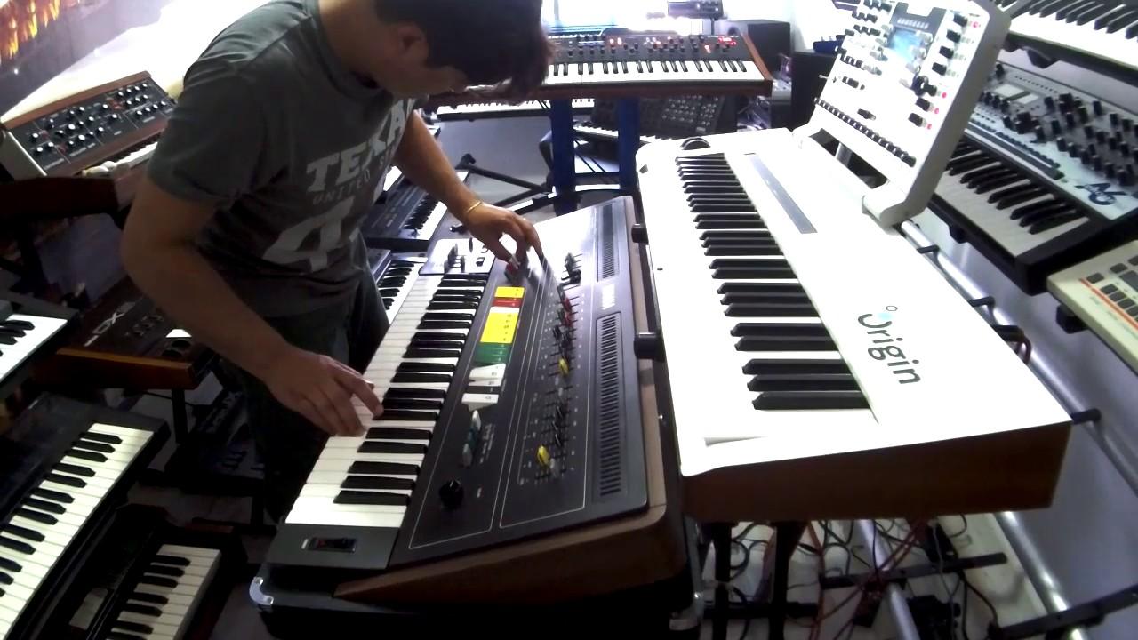 arturia origin yamaha cs50 ambient industrial music eletronic youtube. Black Bedroom Furniture Sets. Home Design Ideas