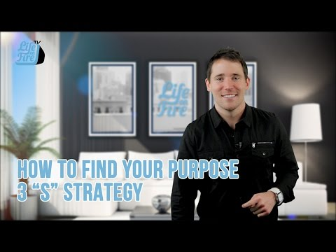 How to Find Your Purpose | 3 S Strategy