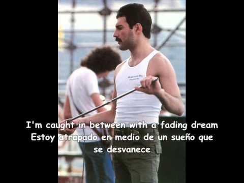 In my defence Freddie Mercury sub inglés y español