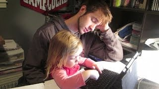 Repeat youtube video Daddys Study Buddy! │1•29•14 DAILY VLOG