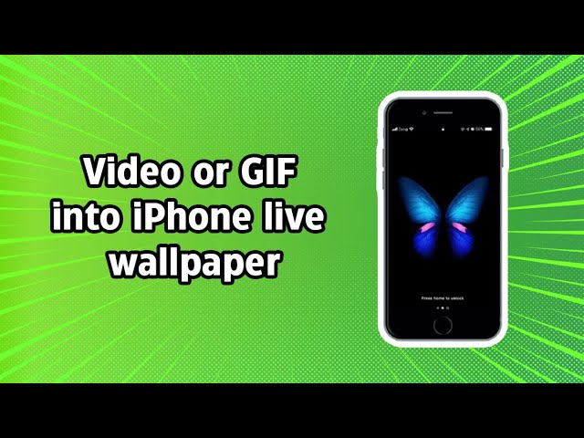 How To Use Any Video Or Gif As Iphone Live Wallpaper