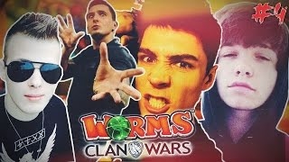 WORMS CLAN WARS! - NITRO vs REZI vs ISAMU vs MULTI!