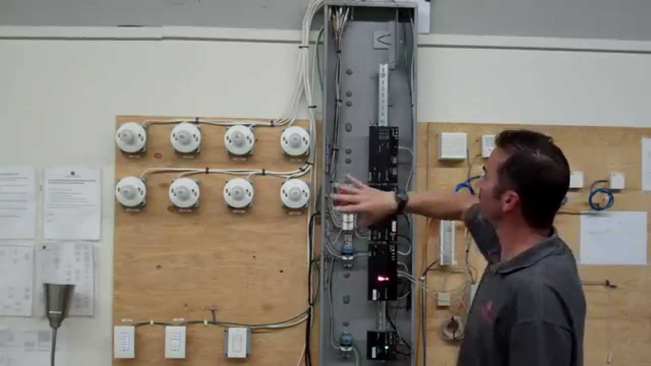 installation of a control4 panelized lighting system [ 1280 x 720 Pixel ]