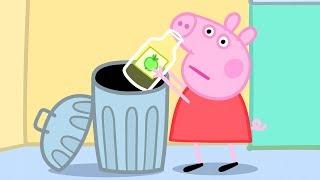 小猪佩奇 | 精选合集 | 1小时 | 小猪佩奇和猪妈妈一起给垃圾分类 | 粉红猪小妹|Peppa Pig Chinese |动画
