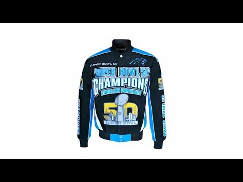 Super Bowl 50 Champions Cotton Twill Jacket  Broncos