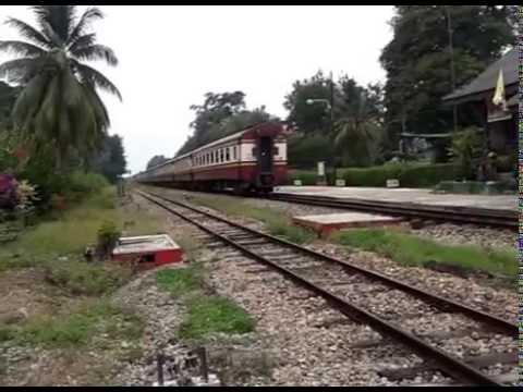 รถไฟไทย สายใต้ Railway south Thailand