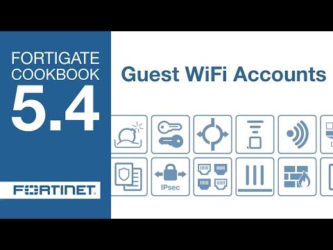 FortiGate Cookbook - Guest WiFi Accounts (5.4)
