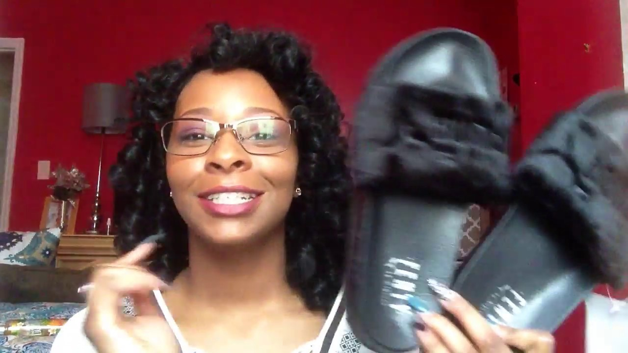 fbbd8b78892 ALIEXPRESS RIHANNA FENTY SLIPPERS - YouTube
