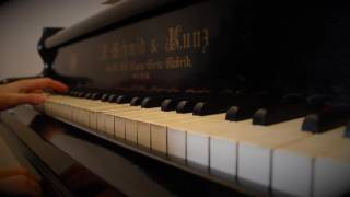 """""""Carreteras infinitas"""", Sidonie - Piano"""
