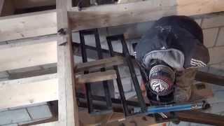Лестница из уголка и швеллера(, 2014-03-17T13:02:31.000Z)