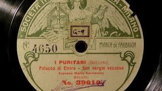 I PURITANI Recordings 1904-1922