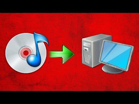 Как скопировать файлы с cd диска на компьютер