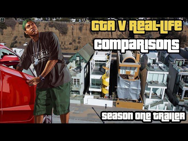 GTA V Real-Life Comparisons: Season One Trailer