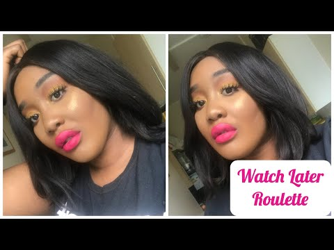 Watch Later Roulette Youtube Edition Week 3 | Makeup Tutorial at Random Challenge thumbnail