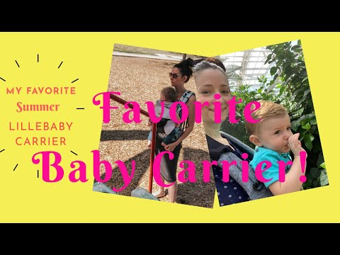 My Favorite Summer LILLEbaby Carriers! Comparing The Airflow And Pursuit Carriers!