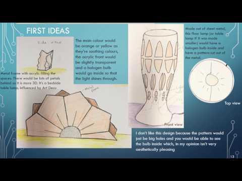 GCSE Product Design Coursework