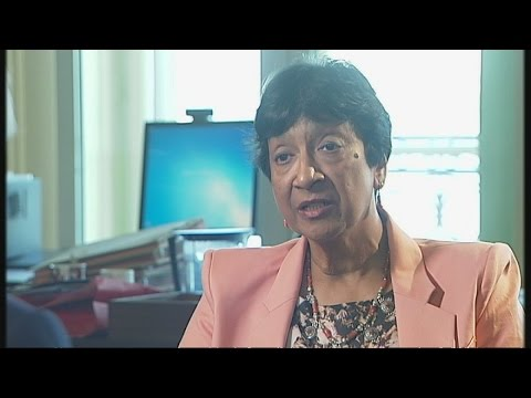 Former UN chief Navi Pillay 'they called me a lunatic' | Channel 4 News