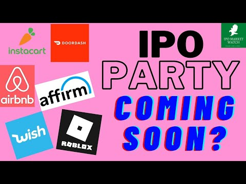 An IPO Party Coming Soon
