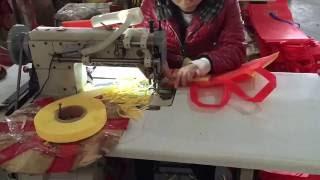 Manual Non Woven Bag Sewing Machine