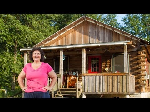 Pre built hunting cabins under 10 000 doovi for Self sufficient cabin kits