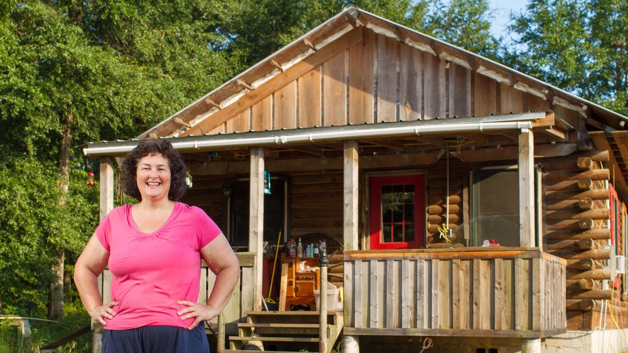 Mortgage free for life inspiring women shows how to build for How to build a cabin on a budget