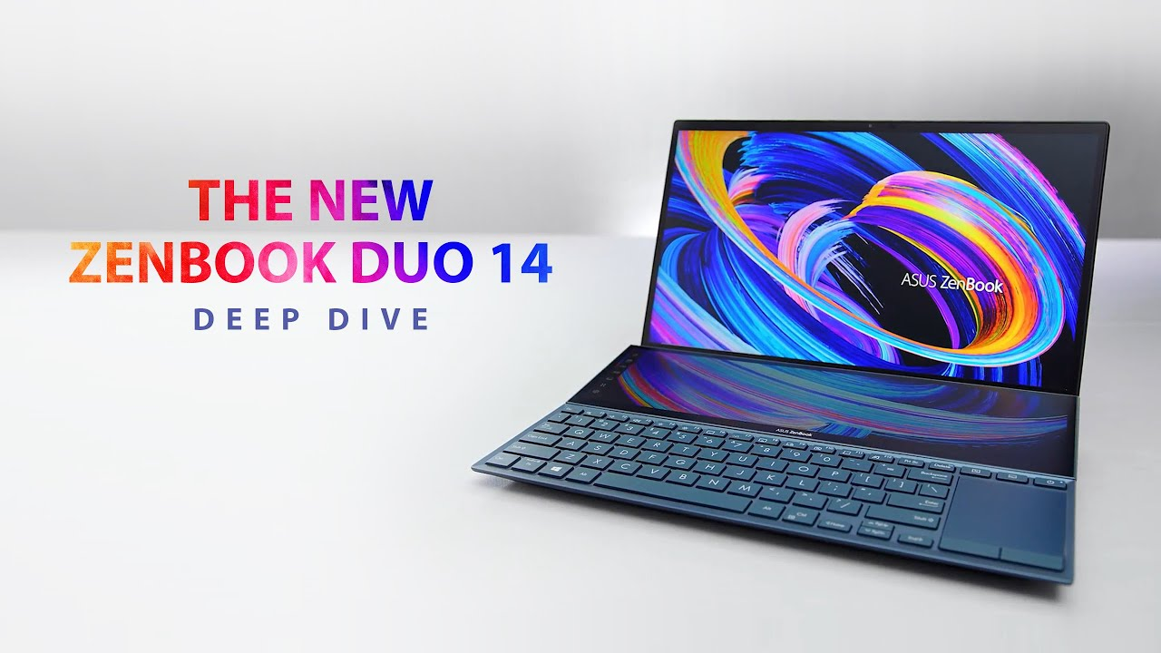 The new ZenBook Duo 14 Review – Deep Dive | ASUS