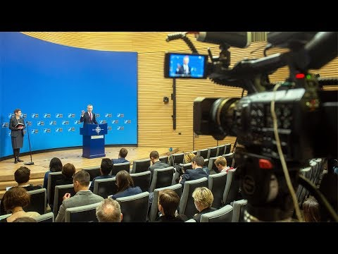 NATO Secretary General, Press Conference at Defence Ministers Meeting, 13 FEB 2019