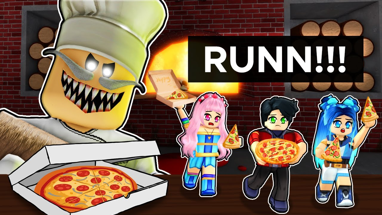We don't want to be PIZZA in Roblox!