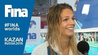 Yuliya Efimova: winner of Women