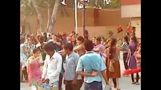 Dasara festival at Wagha border India with music of rang de basanti