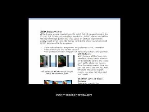 Panasonic VIERA 42-Inch Plasma HDTV Review