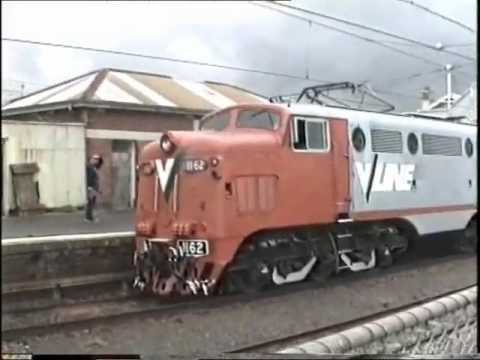 Last L class English Electric Locomotive at Warragul