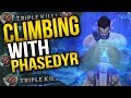 CLIMBING ELO WITH PHASE RUSH GODYR | BEST FLASH YOU'LL EVER SEE - Trick2G