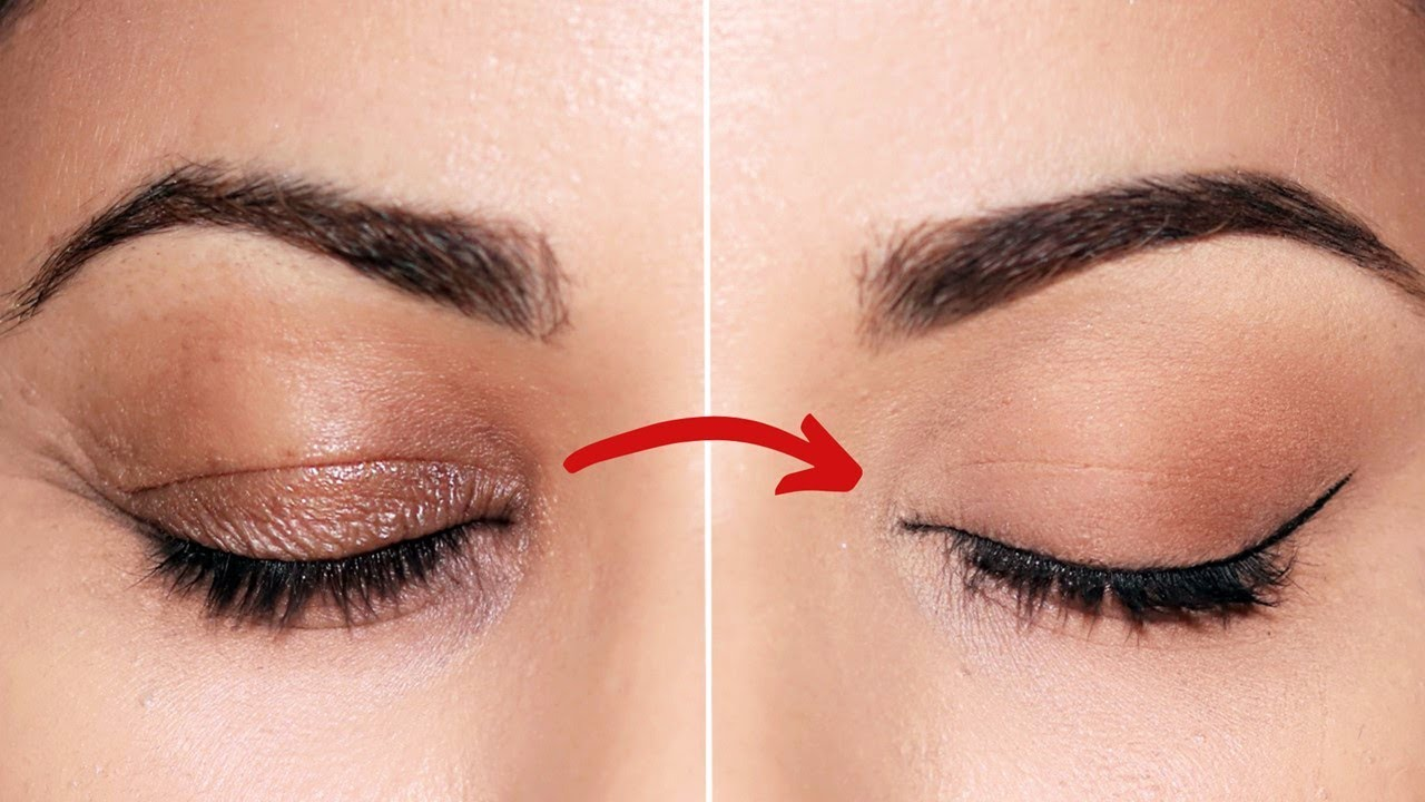 Makeup Tricks That Hide WRINKLES on Eyelids
