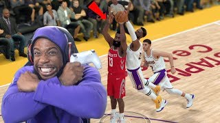 Me and Lonzo Ball STOPPING MVP JAMES HARDEN! Lakers vs Rockets NBA 2K19 Ep 99