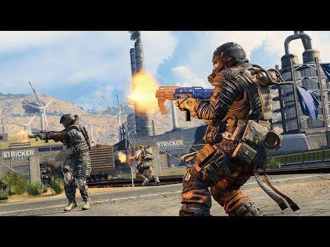 COD Blackout Squads on Xbox One X