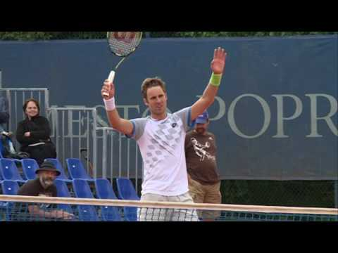 Poprad-Tatry Challenger 2015: Marian Vajda, Miloslav Mecir, Gombos, Djordje Djokovic vs. Peter Vajda
