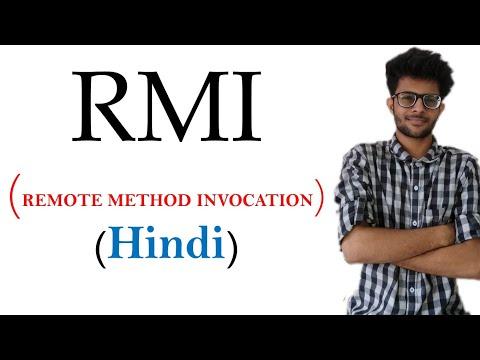 RMI  remote method invocation in hindi