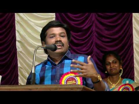 Madurai Muthu's Mind-blowing Speech @ Ponmani School
