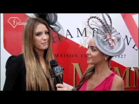 Fashiontv Oceania - ftv123.com | Derby Day interview with Jesinta Campbell